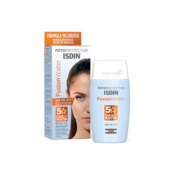 isdin fotoprotector fusion water 50 50 ml
